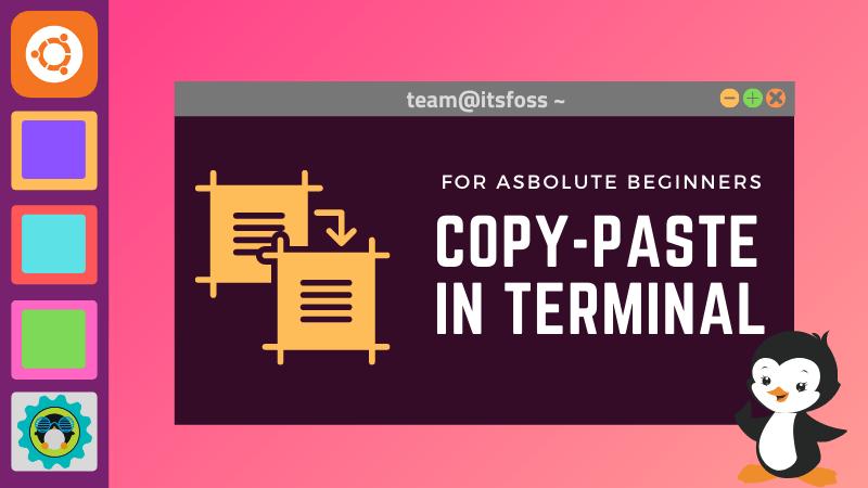 Copy Paste Linux Terminal