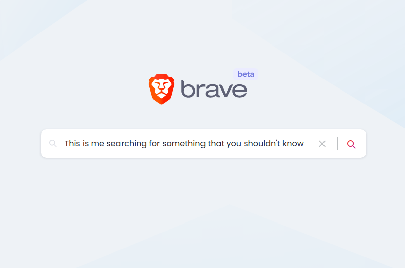 brave search anonymous